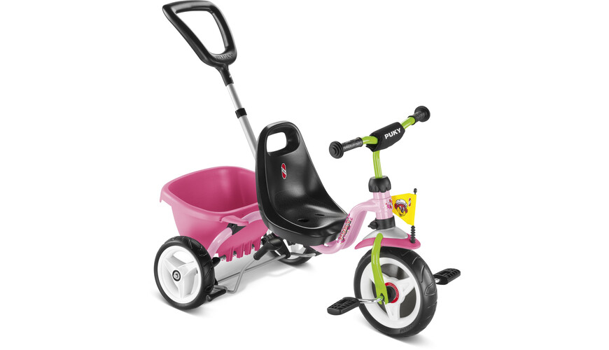Puky CAT 1 S - Tricycle - vert/rouge